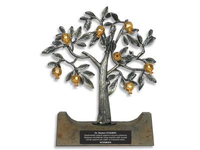 Nar Ağacı Dekoratif Plaket