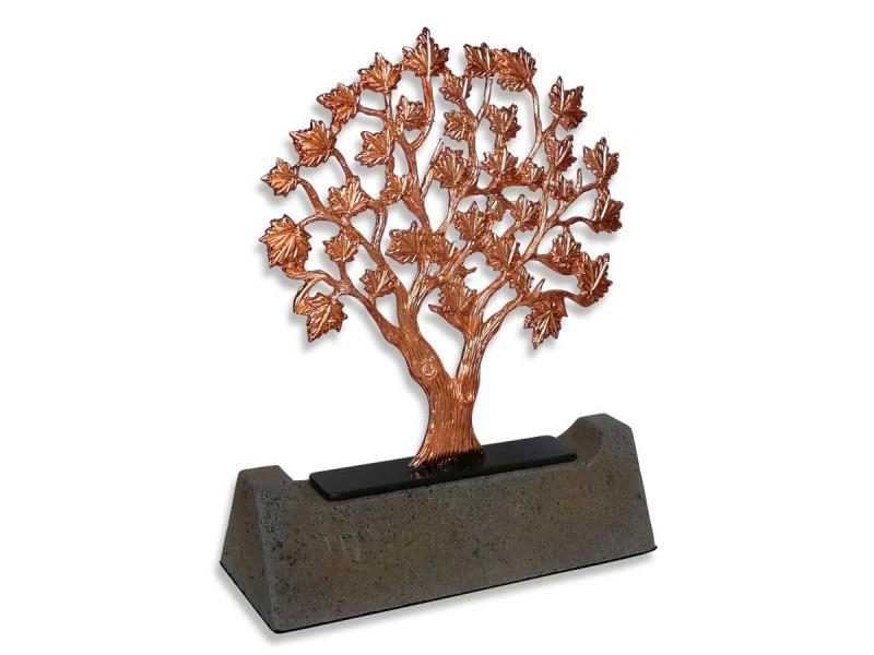 Çınar Ağacı Dekoratif Plaket (Bronz)
