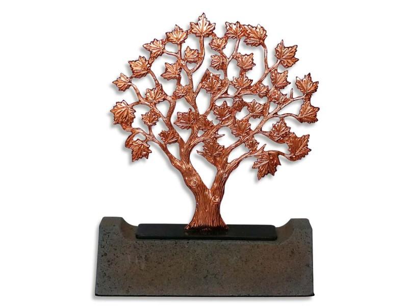 Çınar Ağacı Dekoratif Obje (Bronz)
